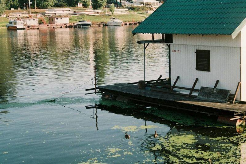 Water Reflection Building Exterior Outdoors Nature Sava River Belgrade,Serbia Belgrade Beograd Minolta Minolta X300 Analogue Photography Analog Photography 35mm Film 35mmfilmphotography Fujifilm