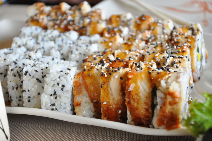 Japanese food Food Indoors  Freshness Close-up Food And Drink Ready-to-eat Sushi Time Sushi Sushi Rolls Foodpics Food Photography Japanese  Asian Culture Asian Food Japanese Food Asian Food Restaurant Asian Food Color
