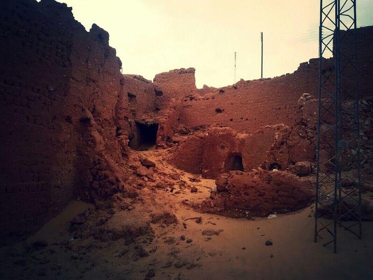 Old Palace Old Construction Old City Old City Of Desert Patrimoine Desert Life Algeria Sand