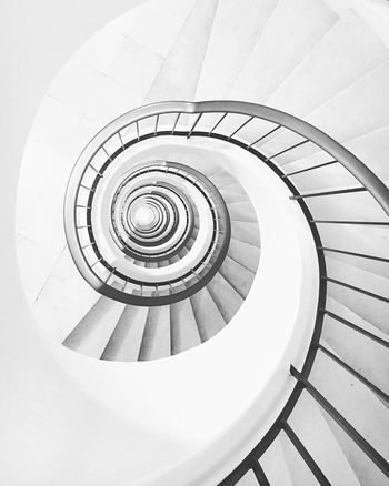 Stairs🌀 Spiral Stairs Architecture Blackandwhite Building Paris Stairways Mmaff From My Point Of View Eye4photography  EyeEm Gallery EyeEm Best Shots - Black + White