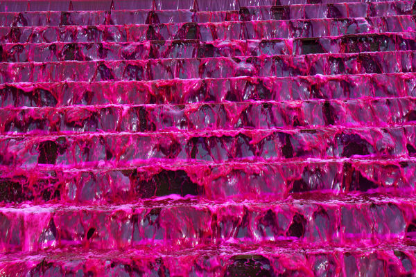 Blood waterfall Steps Backgrounds Blood Water Close-up Day No People Pattern Pink Color Red Red Water Textured  Waterfall