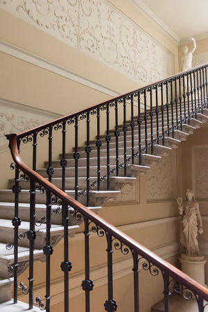 Kedleston Hall Architecture Built Structure Day Hand Rail In A Row Indoors  No People Railing Staircase Stairs Steps Steps And Staircases