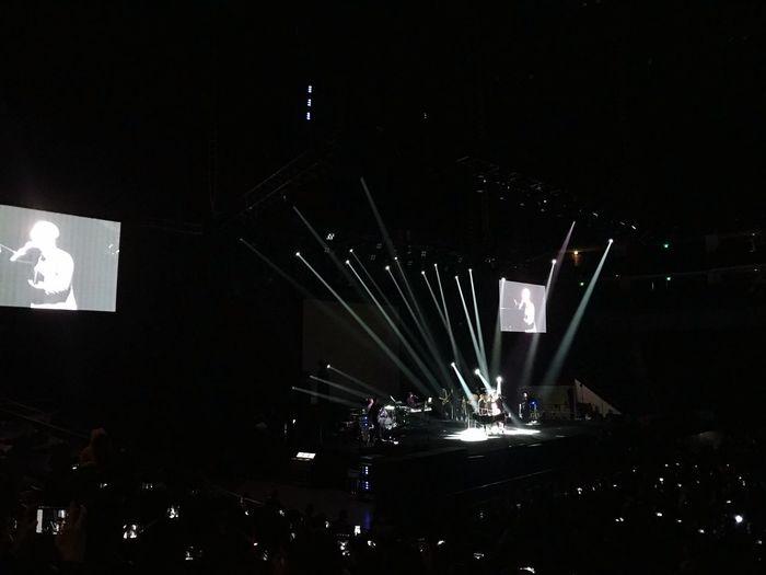 John Legend的演唱会2 John Legend Night Illuminated Lighting Equipment Nightlife Indoors  Stage - Performance Space