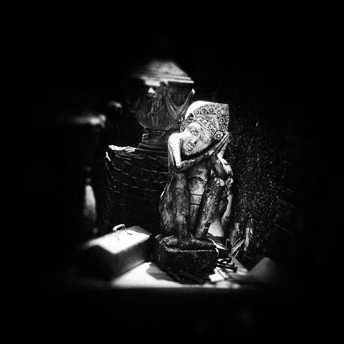 午后 寂沉的 梦 Shadow Indoors  Doll Childhood Child One Girl Only Spooky People One Person Adult Children Only Close-up Day Streetphotography EyeEm Best Shots Eye4photography  Black And White Black & White