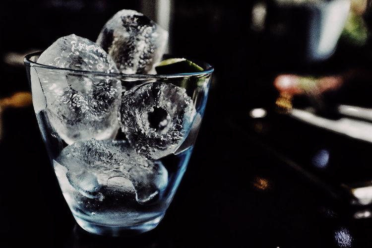 Ice Cubes Bokeh
