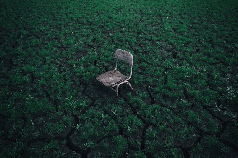 Chair Green Color Field Landscape VSCO Anseong X70 South Korea The Week On EyeEm Editor's Picks