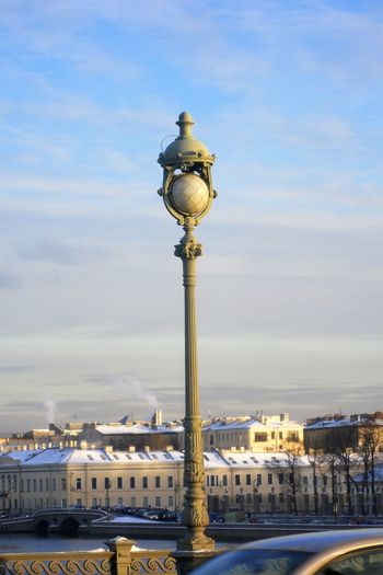 Ancient lamp on a bridge Lamp Post Neva River The Week On EyeEm Winter Architecture Blue Bridge Railing Building Exterior Built Structure City Cityscape Day Historic History Place Illuminated Nature No People Outdoors River Riverbank Sky Snow Street Light Travel Destinations Water