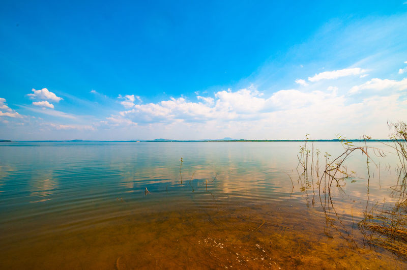 Tri An Lake Vietnam Beauty In Nature Blue Cloud - Sky Day Horizon Over Water Lake Nature No People Outdoors Reflection Scenics Sky Tranquil Scene Tranquility Water đồng Nai