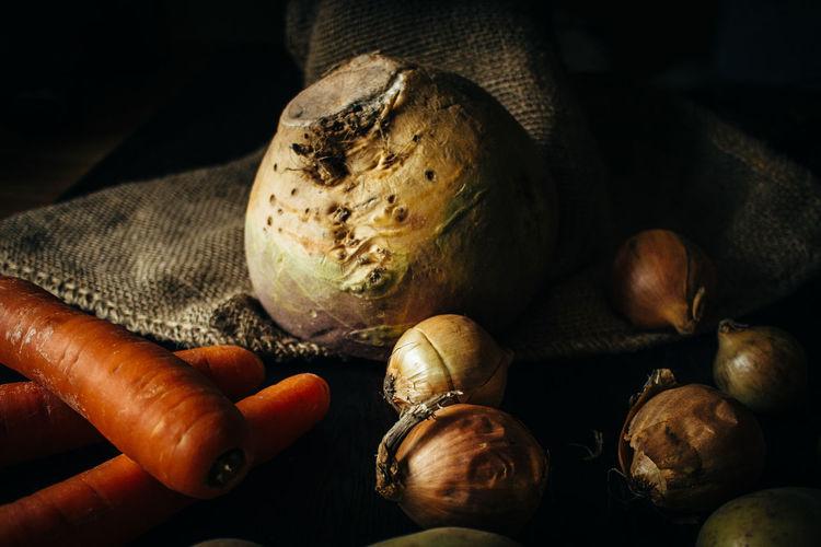 Detail shot of vegetables
