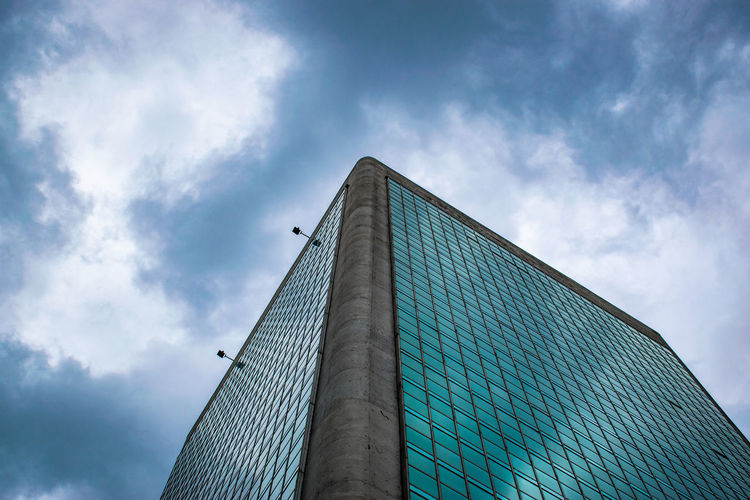 Architecture Built Structure Sky Low Angle View Building Exterior Cloud - Sky Building City Modern Office Building Exterior Tall - High Nature Office Day No People Tower Skyscraper Outdoors Reflection Glass - Material