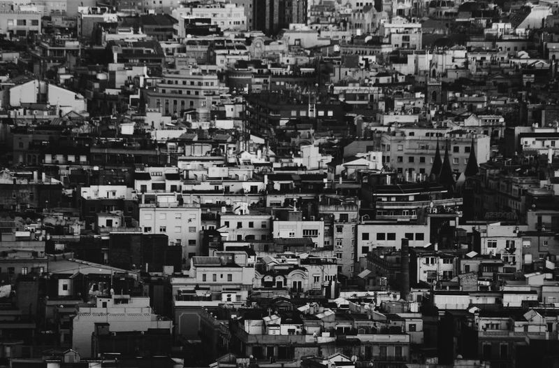 CROWDED. Full Frame Cityscape City Architecture Backgrounds No People Building Exterior Outdoors Frame The Street Photographer - 2017 EyeEm Awards The Architect - 2017 EyeEm Awards BYOPaper! Crowded The Week On Eyem Black And White Friday