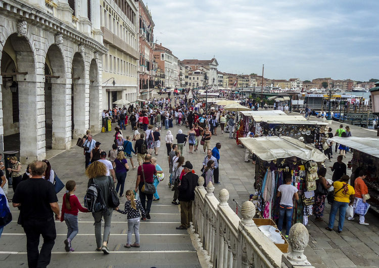 Architecture Built Structure Day Italy Large Group Of People Lifestyles People Real People Travel Destinations Veneza Venezia Venice, Italy
