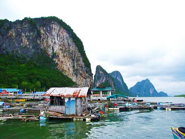 Thailand Rock - Object Tourism Travel Destinations Outdoors Nature Travel Harbor Landscape Bangkok