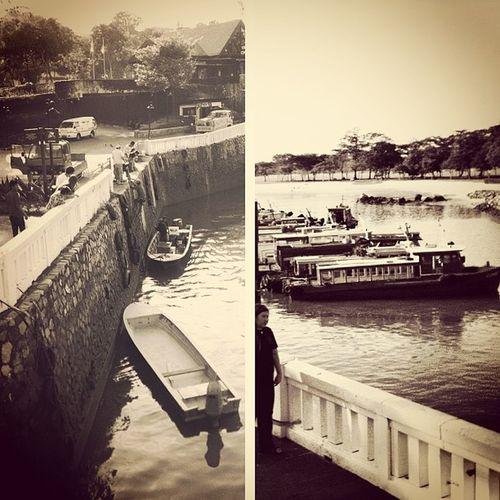 Ferry Changi Life Puddingcamera Pudding .toB &WPast Present Termimal Singapore Instagram