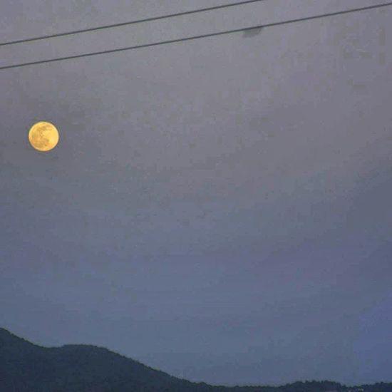 Tunisia IgersTunisia Moon Kef hill of oaks البدر و تل السنديان <3