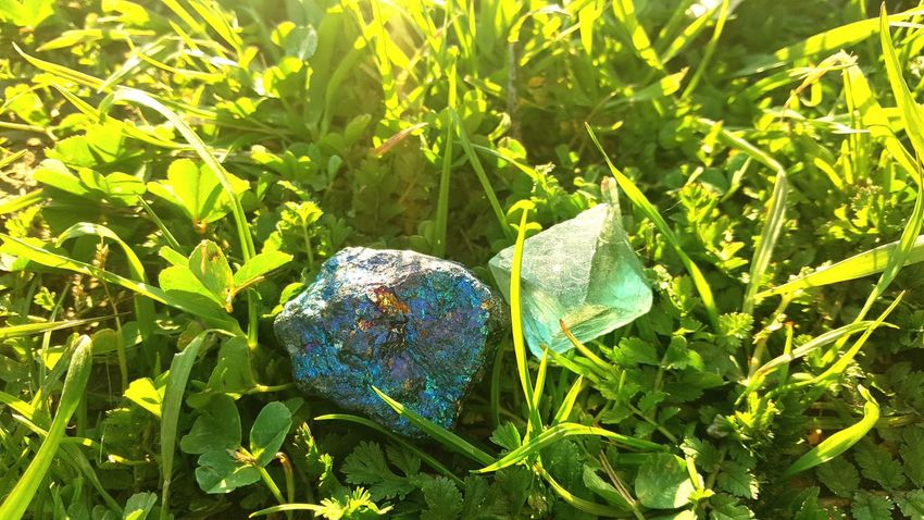 Crazy what beauty nature creates Nature Beauty In Nature Close-up Crystals Pyrite Gemstones Beauty Aquamarine Glittering Rainbow
