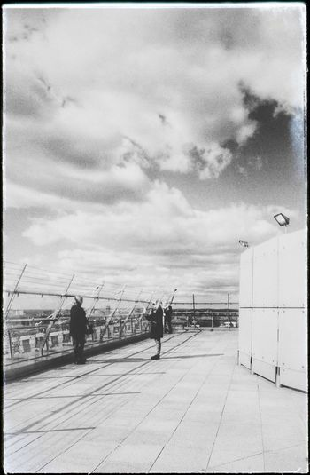Belarus Minsk Library Built Structure Sky Outdoors Black And White Rooftop Spring