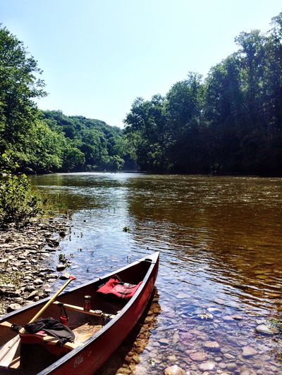 Riverside Water Trees Canoeing Adventure TurkeyRun 43 Golden Moments Feel The Journey On The River On The Way