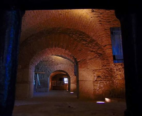 le segrete dell'ex carcere borbonico di Monteforte in Irpinia Italy No People Campania Southern Italy History The Past Jailhouse Arch