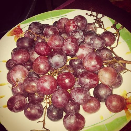 My lunch today are Grapes Grapes Uvas Wizzy Januaring januaringmeal wizzylunch wizzynation