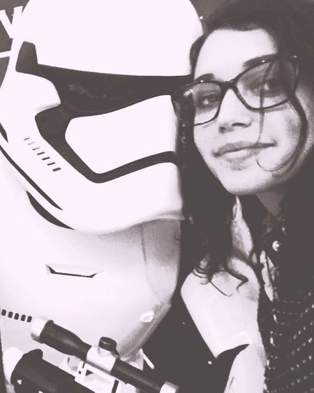 Starwars Stormtrooper Love Vote The Empire Cinema Selfie Use The Force