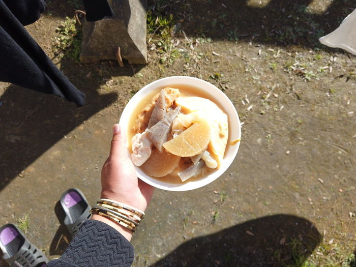 Oden Nimono Japanese Food Food POV Tasty Taste Good Japan Japanese Culture POV Personal Perspective Radish Steps And Staircases Japanese Stew Stew Cooking Holiday Cozy Hyyge Cozy Home Eat Breakfast Lunch Man person Food And Drink Human Hand Food Hand Human Body Part Holding One Person Freshness Real People High Angle View Day Sunlight Unrecognizable Person Body Part Leisure Activity Nature Lifestyles Shadow Outdoors Finger