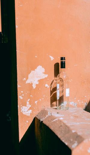 The lonely bottle 50mm Bologna Bottle DSLR Eye4photography  EyeEm Best Edits EyeEm Best Shots F2.8 Italy Nikon Picoftheday Street Streetphotography Wine