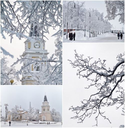 Tampere's Old Church Old Church Tampere Suomi Finland Winter Frost Cityscapes Snow Winter Cold Temperature Building Exterior Architecture Built Structure Tree White Color Weather Bare Tree Nature Outdoors Day Travel Destinations Snowing No People Scenics Branch Beauty In Nature Sky