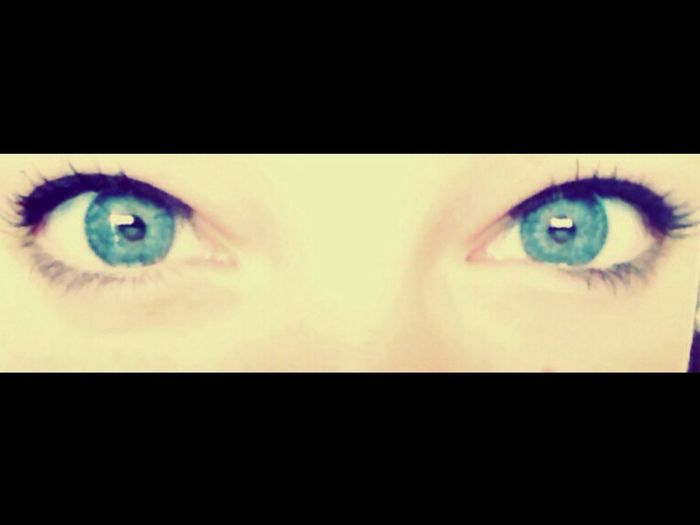 My eyes, do you like them?- Blue Eyes Me Like Or Nah? Blue