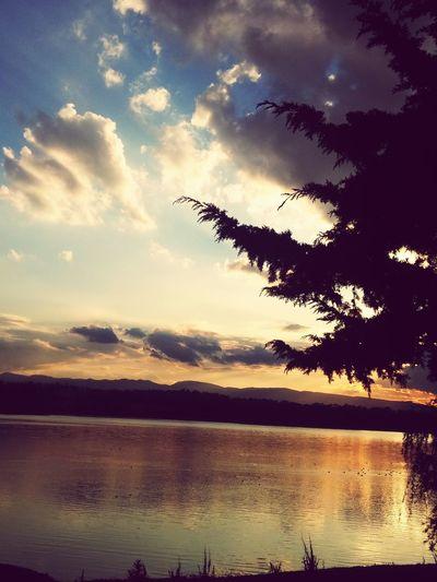 Lake Beautiful Nature Sky And Trees