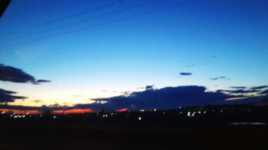 Nature Sun Sunset yolculuk ..