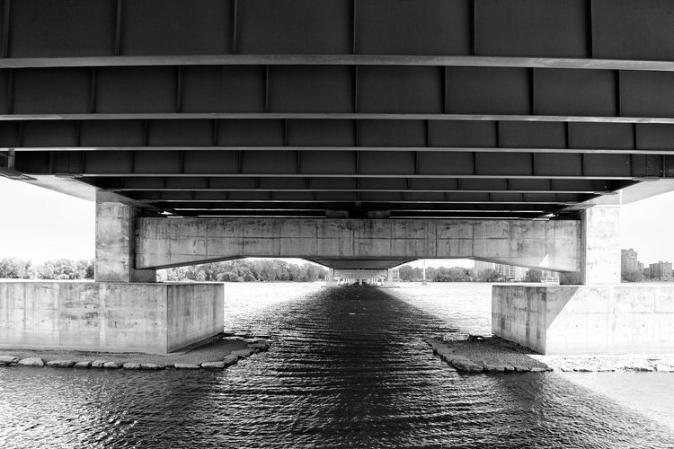Bridge - Man Made Structure Architecture Built Structure Connection Below River Day Transportation No People Outdoors Underneath Water Under