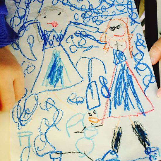 Disney Frozen Sketch Child Art
