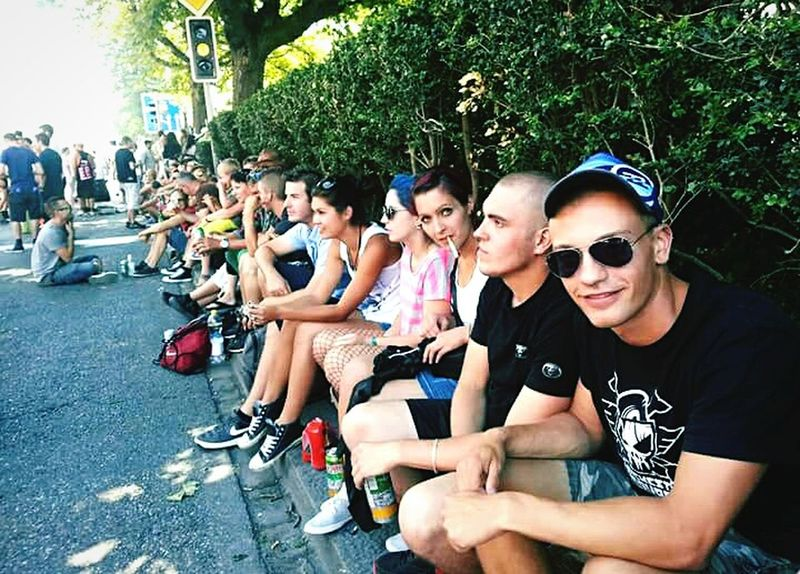 Streetparade with My Friends + Techno Music + Crazy People Nice Weather = Best Party Ever