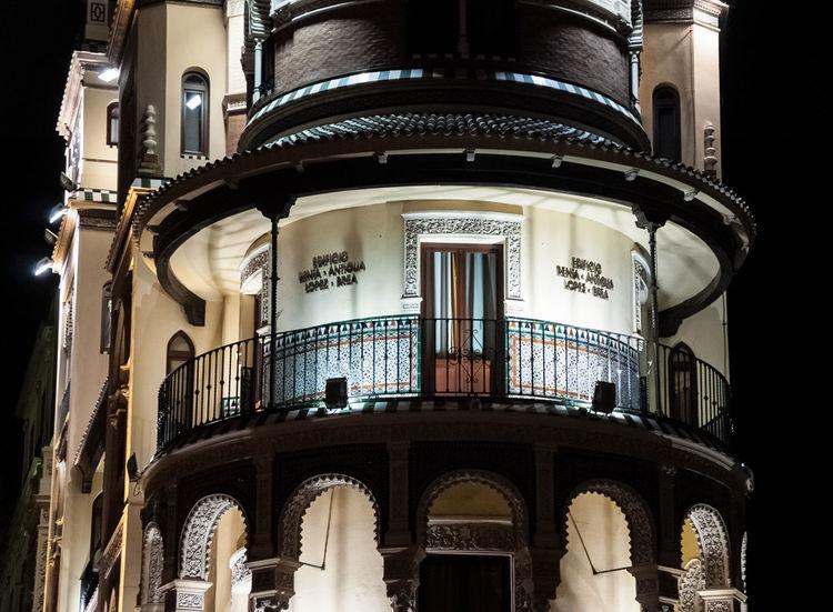 Sevilla. Andalucía. España. España Arquitecture Arquitecture Fotocallejera Andalusia Andalucía Sevilla Streetphotography Seville Cities At Night