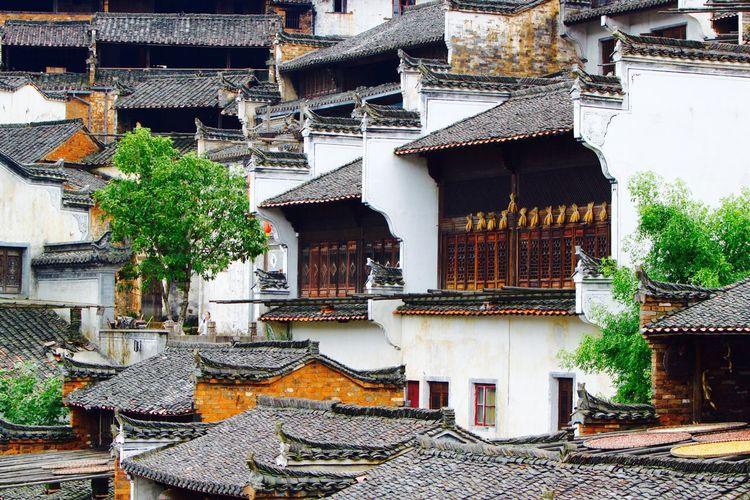 Chinese Architecture Chinese Village Architecture Wuyuan China The Architect - 2017 EyeEm Awards