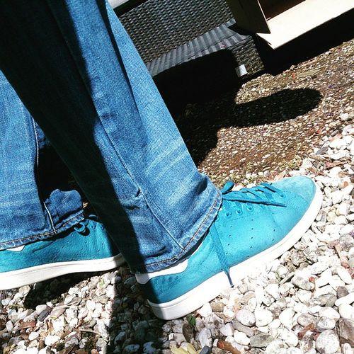 Todaystrainers Adiddicted AdidasStanSmith Adidasoriginals Thethreestripes Yesadidas @awaydayclobber