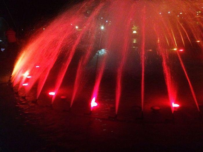 Brindavan Fountain Lights Indiapictures Mysore, India