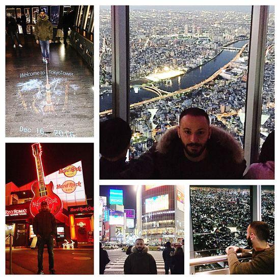 Japan 2016 Tokyo Tower Tokyo Sky Tree Hard Rock Cafe Shibuya Big City Life Sky Is The Limit