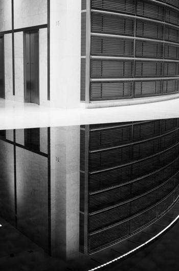 Architecture B&w Devon Pool Reflection Street Photography Tower Windows