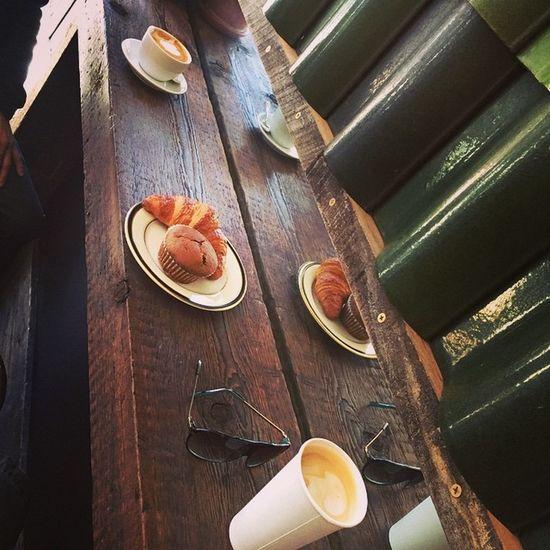 Cappuccino Latte Almondmilk Astoriacoffeeshop kinshipcoffeecooperative sundayfunday gaystars Gaystagram instagay