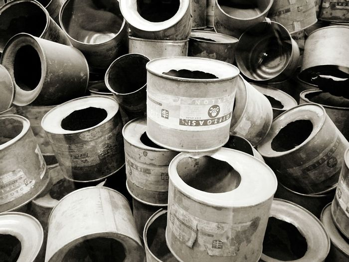 Large Group Of Objects Close-up No People Indoors  Genocide Ss Word War II Birkenau Memorial Dead Death Nazism Polska NAZI Birkenau Aushwitz-Birkenau Aushwitz Residence Aushwitz Osweçim Blackandwhite Ss Giftgas
