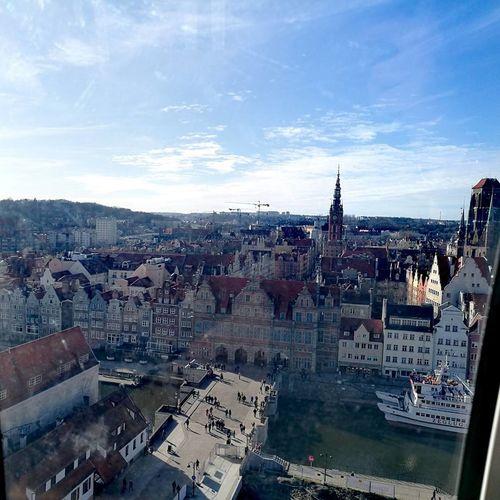Cityscape Architecture City Tricity Sky Lovely Day Sunnyday☀️ Beautiful View Gdansk,poland InTheSky Love It ♥ Day Together
