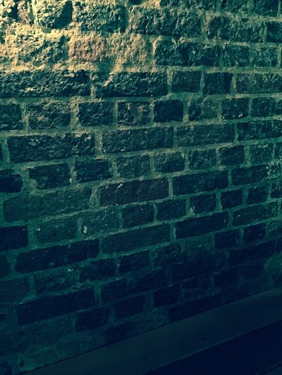 Old brick Brick Wall wall with great mood lighting