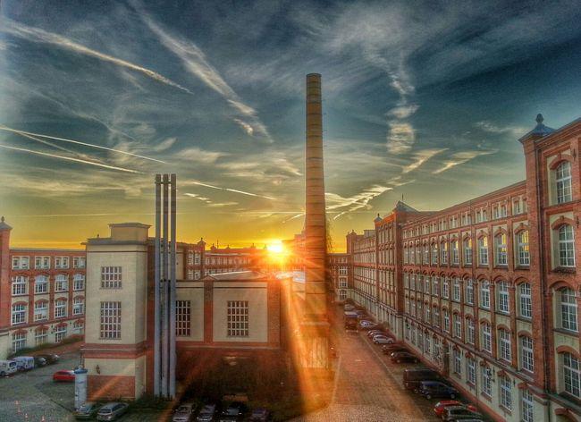 HDR Sunrise Dresden Beautiful Morning