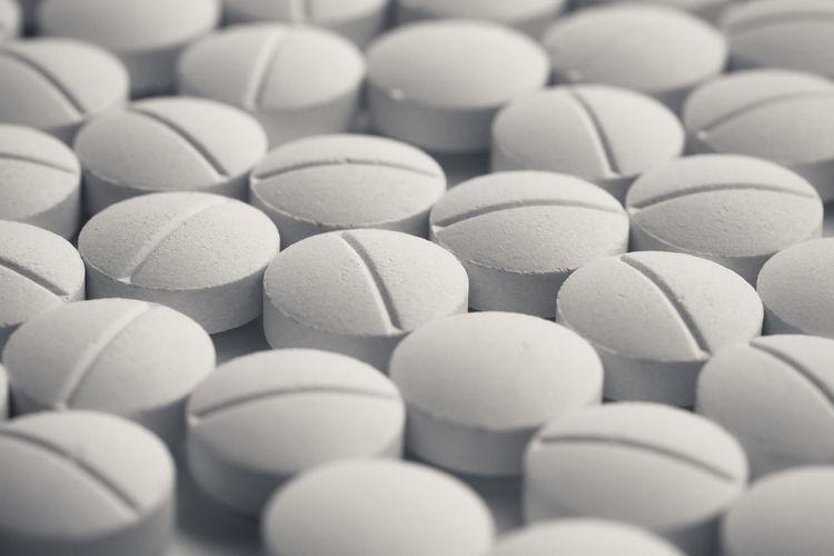 Full frame shot of medicines