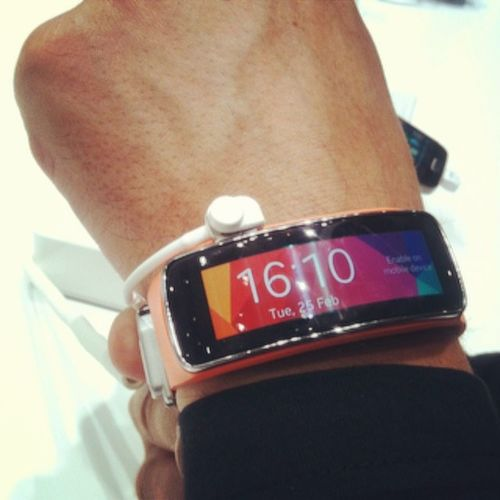 SamsungGear Wearable Mwc14