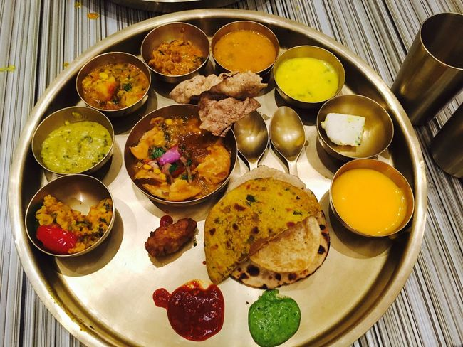 Indian Food Indian Culture  Maharajabhog Powai Unlimited Food DELICIOUS FOOD ♡ Delicious Foods Tasty Ready-to-eat Variation Birthday Dinner