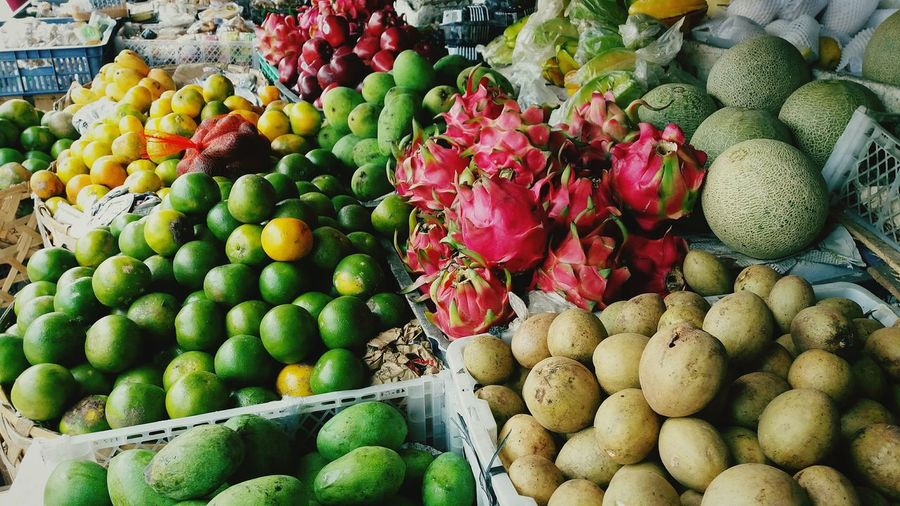 Bali street fruit market Fruit Market Food Freshness Outdoors Food And Drink Nature