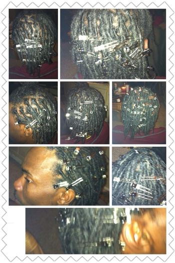 Jus Finished My Homeboy Dreads Hmu On Fb At Jakeria King Or Twitter @PrettyGirLKe_22 For More Info!!!